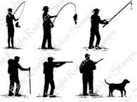 Silhouette Sportsmen