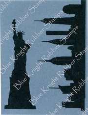 Statue of Liberty and Skyline