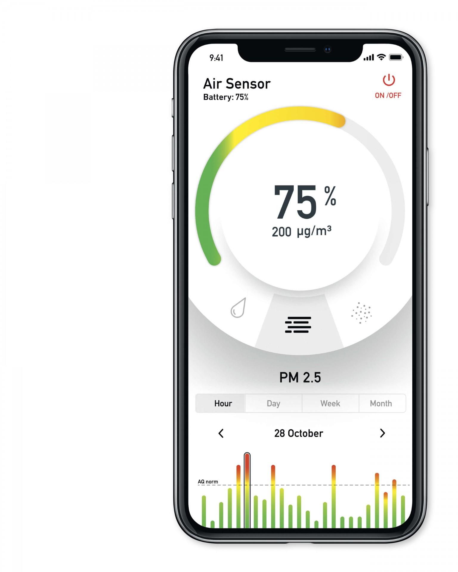 Air Sensor App