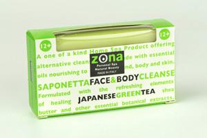 Zona Saponetta 12 + Face & Body Cleanse Japanese Green Tea
