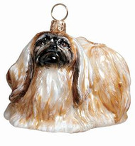 Pekingnese Dog - Joy To The World Ornament