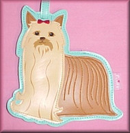 Yorkshire Terrier Fluff Dog Series Luggage Tags