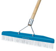 "Grandi Groomer 18"" Carpet Rake"