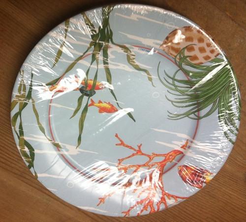 Caspari 'Maldives' Dinner Plates
