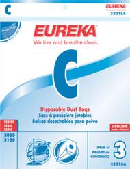 Eureka Style C Disposable Dust Bags