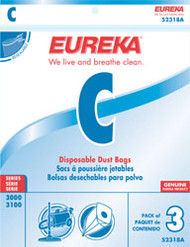 Eureka Style C Disposable Dust Bags 9 Pack