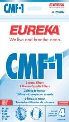 Eureka CMF-1 Motor Filters 4 Pack