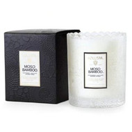 Voluspa Moso Bamboo Glass Candle