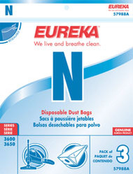 Eureka Style N Disposable Dust Bags