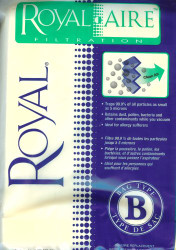 Royal Aire Filtration Type B Vacuum Bags