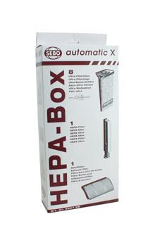 SEBO HEPA Service Box Automatic X #5827ER
