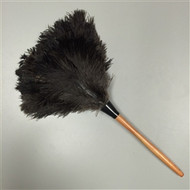 Premium Black Feather Duster 28""