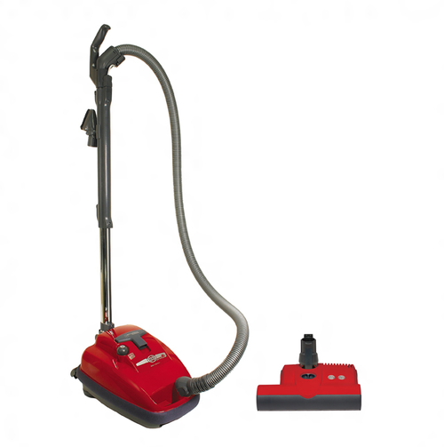SEBO Airbelt K3 Red Canister Vacuum with Power Head