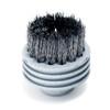 Ladybug 38 mm Gray Stainless Steel Nozzle Brush