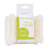 Casabella Sparkle Sponge 2 Pack