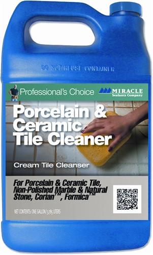 Miracle Sealants Porcelain & Ceramic Tile Cleaner Gallon
