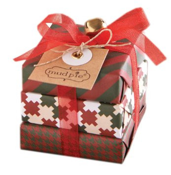 Mudpie Checkered Soap Package