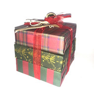 Mudpie Plaid Soap Package