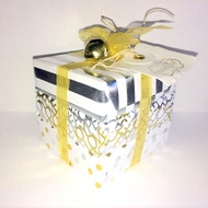 Mudpie Silver Stripe Soap Package