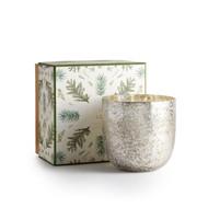 Illume Balsam & Cedar Sanded Mercury Glass