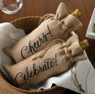 Mud Pie 'Celebrate' Wine Bag (429M006CE)
