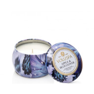 Voluspa Apple & Blue Clover Mini Decorative Tin Candle