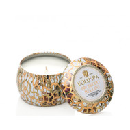 Voluspa Prosecco Bellini Mini Decorative Tin Candle