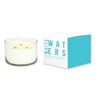 Modern Alchemy White Waters White Box Collection 3 Wick Candle