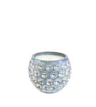 Opaline Cloud Orb Glass Candle