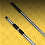 3-Section Rippled-handle Aluminum Extension Pole 100""