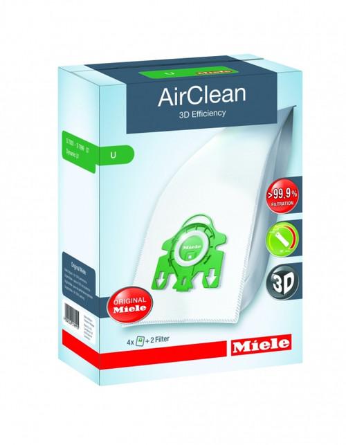 Miele AirClean 3D Efficiency Dustbags Type U