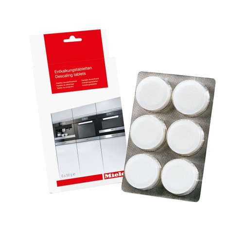 Miele Descaling tablets (CVA & DG models)