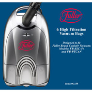 Fuller Brush Co. Micro Filtration Vacuum Bags for Full Size Canisters 6-Pack