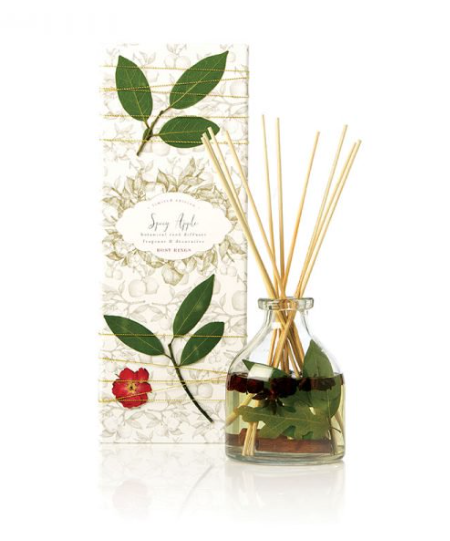 Rosy Rings Spicy Apple Petal & Thread Botanical Reed Diffuser