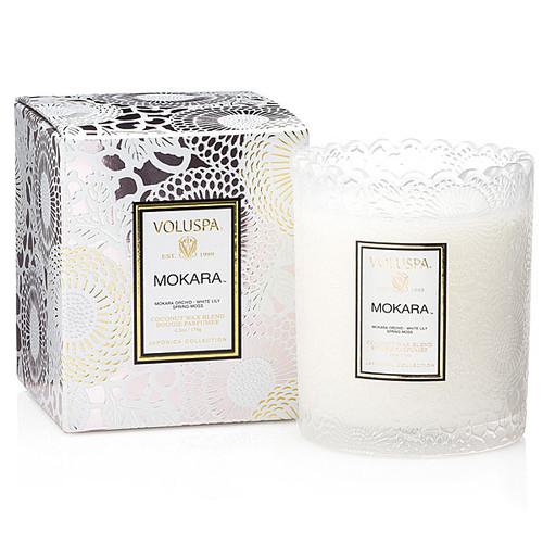 Voluspa Mokara Glass Candle