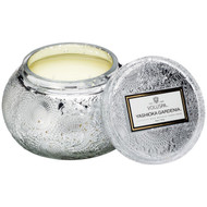 Voluspa Yashioka Gardenia Chawan Bowl 2 Wick Glass Candle