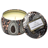 Voluspa Yashioka Gardenia Mini Decorative Tin Candle