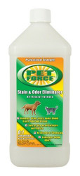 Pet Force Stain and Odor Eliminator 32 fl oz (Quart)