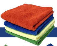 Color Coded Microfiber Towels 4 Pack