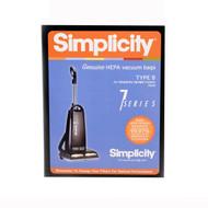 Simplicity HEPA Media Bags for 7 Series SBH-6 (6 Pack)