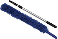 Handheld Microfiber Flex Duster with Telescopic Pole