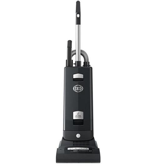 SEBO Automatic X7 Premium Graphite Upright Vacuum Cleaner 91543AM