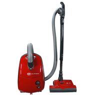 SEBO Airbelt E3 Premium Canister Vacuum Red with ET-1 Power Head