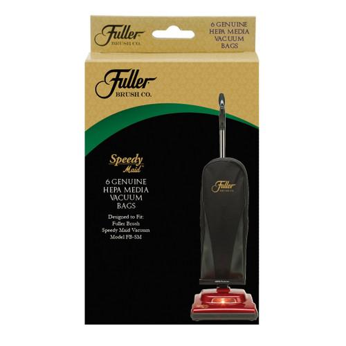 Fuller Brush Co. HEPA Media Bags for Speedy Maid Vacuum 6-Pack