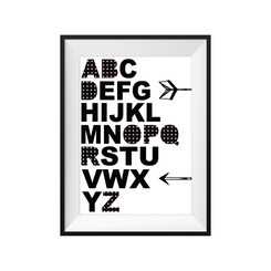 Monochrome ABC