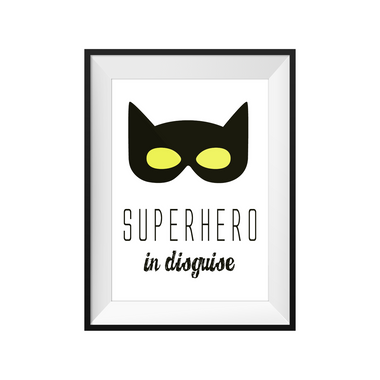 kids print wall décor art nursery art babys room décor whimsical pictures inspirational words superheros motif