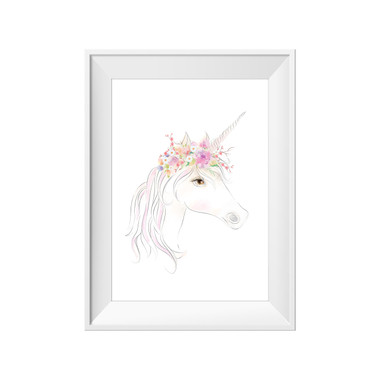 kids print wall décor art nursery art babys room décor whimsical pictures inspirational words unicorn motif