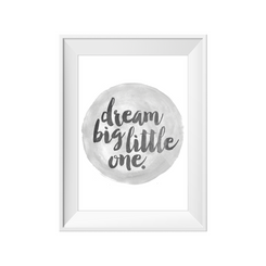 kids print wall décor art nursery art babys room décor whimsical pictures inspirational words watercolour motif