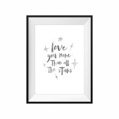 kids print wall décor art nursery art babys room décor whimsical pictures inspirational words love quote motif