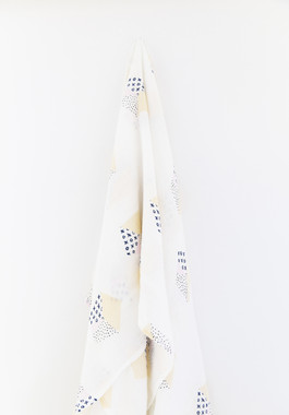 baby wrap swaddle bamboo muslin kisses and hugs motif